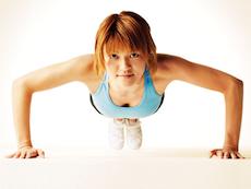胸の筋肉を鍛えて垂れ胸解消